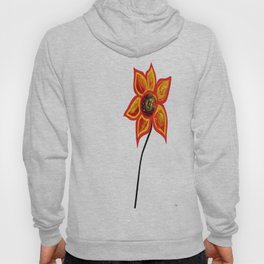 Just One Abstract Flower Hoody
