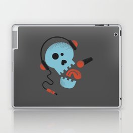 Calavera rockera / Rocking skull Laptop & iPad Skin