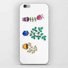Flower pots iPhone & iPod Skin