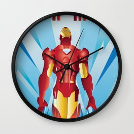 The Armored Avenger: Iron Man Wall Clock