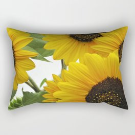 Sun Burst Rectangular Pillow