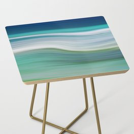OCEAN ABSTRACT Side Table