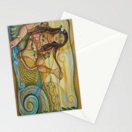Mermaid Island Stationery Cards