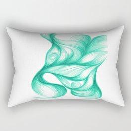Azurite Singularis Rectangular Pillow