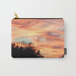 Pastel sunset skies Carry-All Pouch