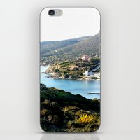 greece iPhone & iPod Skins featuring Greece by Chiara