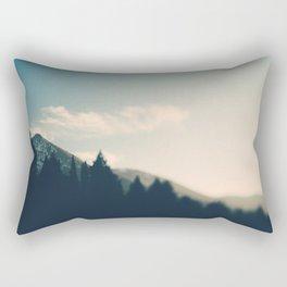 Wasatch Mountains Rectangular Pillow