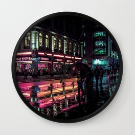 London Nights / Liam Wong Wall Clock