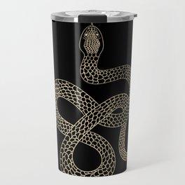 Vintage line snake Travel Mug