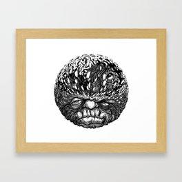 Sumpin Fishy Framed Art Print