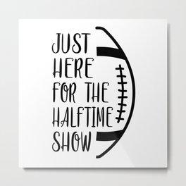 Football Sports Game Team American USA Funny Gift Metal Print