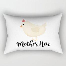 Mother Hen Rectangular Pillow