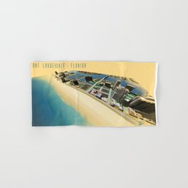 Fort Lauderdale Beach Hand & Bath Towel