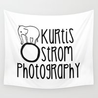 swag Wall Tapestries featuring Kurtis Ostrom Photography Swag by Kurtis Ostrom Photography