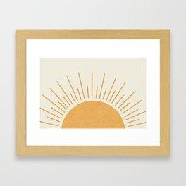 Sunshine Everywhere Framed Art Print