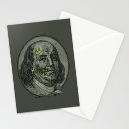 BENJAMIN FREAKLIN Stationery Cards