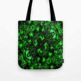 Emerald Green Fashion Design Tote Bag