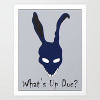 donnie darko Art Prints featuring Donnie Darko by The Silence