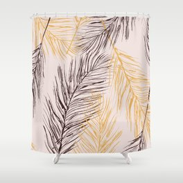 Feather love Shower Curtain