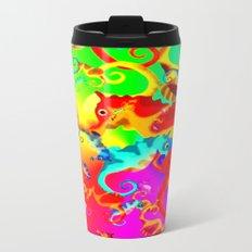 Seahorse Metal Travel Mug