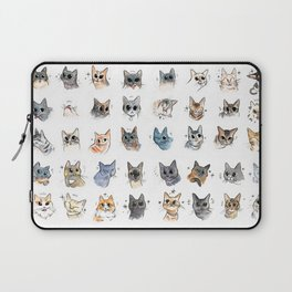 50 cat bleps! Laptop Sleeve