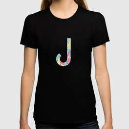 J Pastel Lines T-shirt