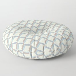 Sandbox grid Floor Pillow