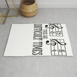 Music Orchestra Conductor sarcasm Choir Gift Rug
