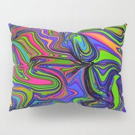 Lime Chaos Pillow Sham