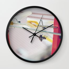 Let's get it on, up-side-down Wall Clock