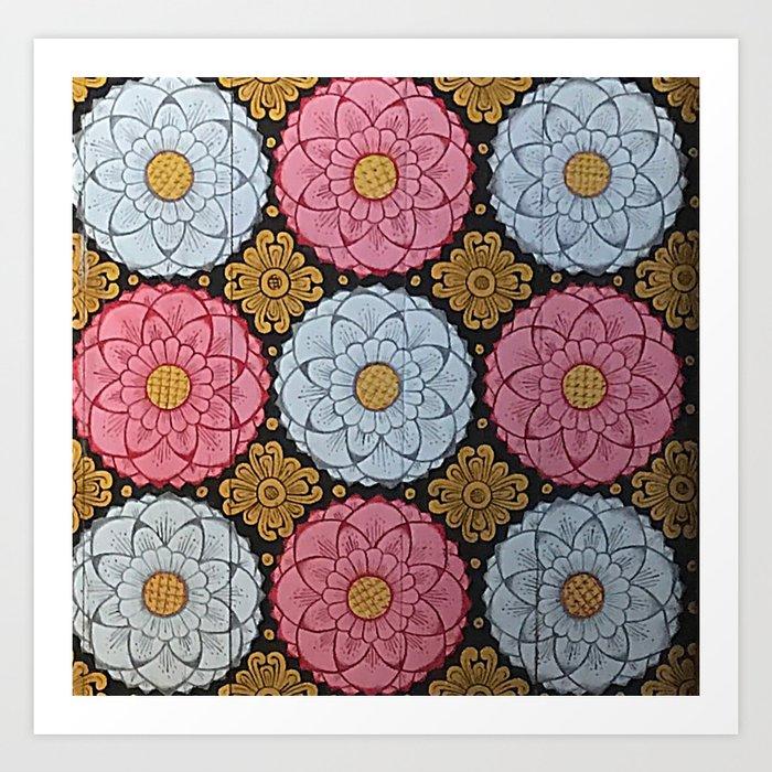 Lotus Flowers Kunstdrucke