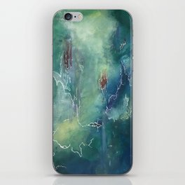 Green Horizons iPhone Skin