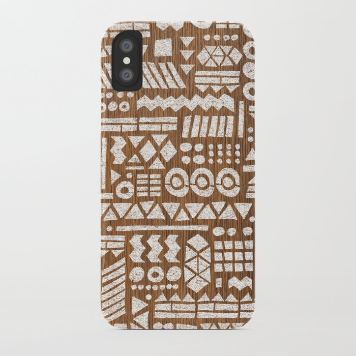 Northwoods Pattern. iPhone Case