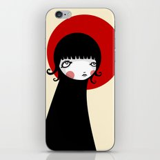 Redd Moon iPhone Skin