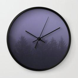 Lavender Haze Wall Clock