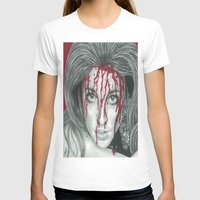 kris tate T-shirts featuring Sharon Tate  by Jimmy Lee