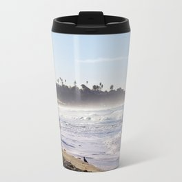 Lifeguard Tower on the Beach Travel Mug