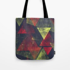 weathered triangles Tote Bag