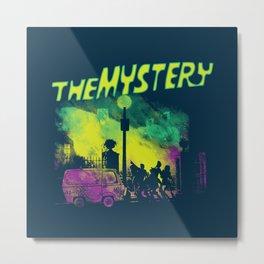 The Mystery Metal Print