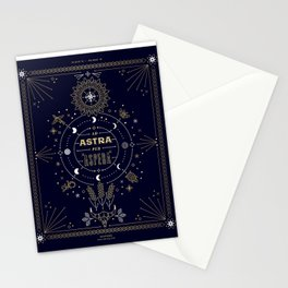 Ad Astra Per Aspera Stationery Cards