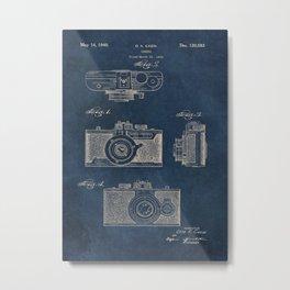 Cazin Camera patent art Metal Print
