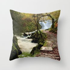 The Land of Elves Throw Pillow