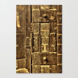 Unhinged 2 Sepia Canvas Print