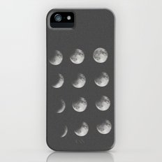 phases of the moon iPhone (5, 5s) Slim Case