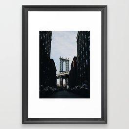 D U M B O Framed Art Print