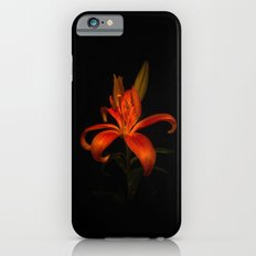 Orange Lily iPhone 6 Slim Case