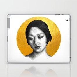 Silent Siren, Nasty Woman: Anna May Wong Laptop & iPad Skin