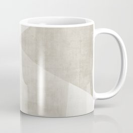 Structure No. 2   Abstract in Neutral Coffee Mug