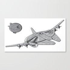 Centenium Falcon Canvas Print