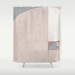 Boho Golden Ratio Shower Curtain